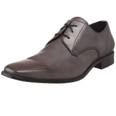 PERFECT! exactly what I was looking for in a grey dress shoe for him!  Kenneth Cole New York Men's First Class Lace-Up