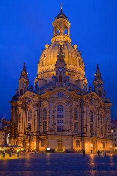 The Dresden Frauenkirche (Women's Church), Dresden, Saxony, Germany!