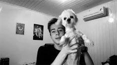 Cellbit com seu cachorro