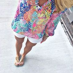 In love with this new Elsa top by Lilly Pulitzer