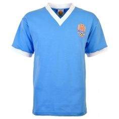 Uruguay 1950 World Cup Final Kids Retro Football Uruguay 1950 World Cup Final Childrens Retro Football ShirtThe final of the 1950 World Cup if there was one was what all finals should have. A massive crowd