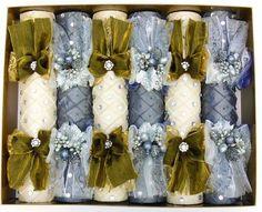 Harrods Christmas crackers, if only Harrods Christmas, English Christmas, Silver Christmas, Elegant Christmas, Victorian Christmas, 12 Days Of Christmas, Christmas Jewelry, Christmas Wedding, Handmade Christmas