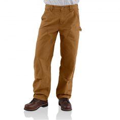 PANTALON DE TRAVAIL CARHARTT EB136 Coloris Carhartt Brown.  Très agréable à porter, version lavée du B01