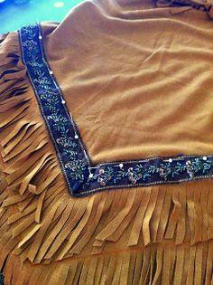 Sun Scholars: Native American Indian Costume {Easy Sew} Tutorial