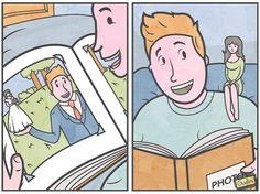 Les illustrations sarcastiques de Anton Gudim  Dessein de dessin