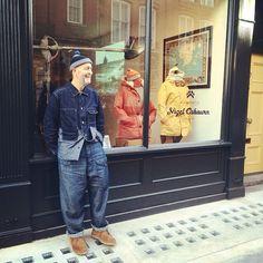 LEGEND #AW15 #NigelCabourn exhibition. No 10 Henrietta Street. #London #LCM #MadeInEngland #Heritage @nigel_cabourn