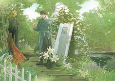 Fullmetal Alchemist dj - Shade Garden and Sky - Artist Unknown