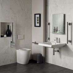 Ideal Standard Concept Doc M Pack with BTW Disabled ToiletDisabled bathrooms from Bathing Solutions EASY ACCESS WALK IN  . Bathing Solutions For The Disabled. Home Design Ideas