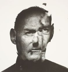 Irving Penn / Irving Penn: In A Cracked Mirror (Self Portrait) (A), New York / 1986, printed Oct 1990
