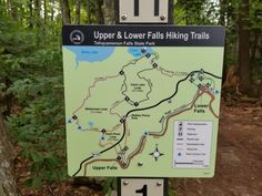 An awesome 8 mile trail run from the upper to the lower falls and back to break up that drive from downstate! North Country Trail, Produce Stand, 8 Mile, Trail Maps, Upper Peninsula, Trail Running, Hiking Trails, Waterfalls, Breakup