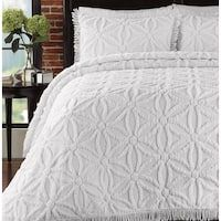 Lamont Home Arianna Bedspread Set, Bring elegance to your bedroom with this 100 cotton, chenille bedspread and matching sham set. LaMont Home Arianna is a c Chenille Bedspread, Floral Bedspread, Blue Bedspread, Trends, Coastal Decor, Coastal Curtains, Coastal Entryway, Coastal Rugs, Coastal Bedding