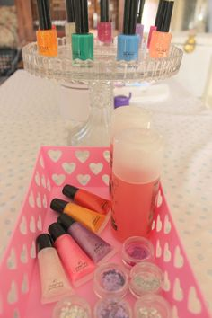 Little Big Company | The Blog: Pamper Party by Paper and Style Co