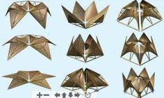 """Folding Bamboo Houses by Ming Tang\ on TreeHugger 