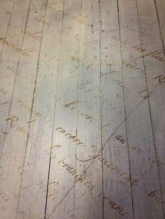 stencilled floor. <3 bostonstylista: SHOP: Maison Decor