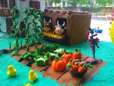 What a beautiful scene made entirely from JumpingClay...what will you make?