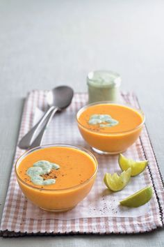 Coconut milk and a touch of curry powder add a twist to the usual butternut variety. We cannot get enough of thisspicy coconut butternut soup with coriander yoghurt to banish the winter blues. Related Posts:Homemade tom yum pasteMulligatawny soupButternut and cardamom wraps with roast chicken, butternut…Coconut, spicy prawn and avocado lettuce cups with a light…Butternut, fennel and ginger soup with toasted pumpkin seedsCoconut and mango lassiFrosted Coconut LemnodaeCurry oil