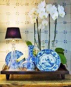 rue 27 maison: J'adore the color....bleu
