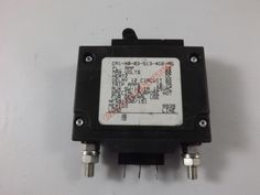 CA1X0035134D2MG - CARLING SWITCH INC - 15 AMP CKT BREAKER BOLT IN BLACK HANDLE 3 PIN NFS81230/151