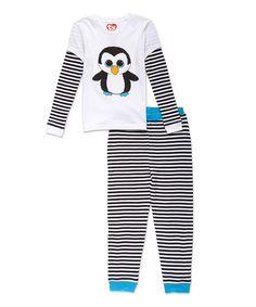 Look what I found on #zulily! Beanie Boos Waddles Pajama Set - Girls by Beanie Boos #zulilyfinds