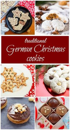 german christmas recipes Traditional German Christmas cookies come in many delicious forms - from gingerbread to single-spice cookies and nutty little bites. This delicious list has a something for everyone. German Christmas Traditions, German Christmas Cookies, German Cookies, Holiday Cookies, German Christmas Decorations, German Christmas Markets, Family Traditions, Christmas Goodies, Christmas Treats