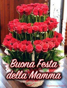 Happy Mothers Day, Christmas Wreaths, Floral Wreath, Table Decorations, Holiday Decor, Cards, Home Decor, Valentino, Facebook