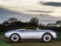 1955 Porsche 550 Spyder by Wendler - Motorsport Retro Porsche 550, Porsche Boxster, Porsche Sports Car, Porsche Models, Ferdinand Porsche, Pretty Cars, Amazing Cars, Luxury Cars, Luxury Auto