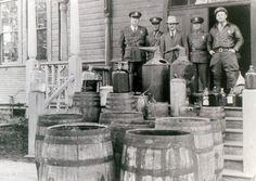 Bootleg Hooch in 1930's Ventura, California.