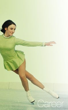 Peggy Fleming U.S. 1968 Olympic champion in Grenoble plus 3 World titles