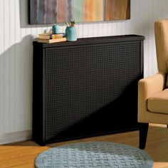 Decorative Radiator Cover x Diy Radiator Cover, Baseboard Heater Covers, Decorative Radiators, Sr1, Inside Home, Space Saving Storage, Wood Trim, Create Space, Heating And Cooling
