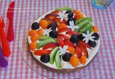 Fruit Salad, Sweet Recipes, Desserts, Greek, Food, Lab, Mascarpone, Tailgate Desserts, Fruit Salads