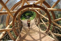 CNN Article: Bali's spectacular bamboo village sets new heights for barefoot luxury