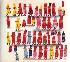 Kveta Pacovska is a Czech artist and children's book illustrator. People Illustration, Children's Book Illustration, Illustration Children, Hans Christian, Kids Prints, Art Prints, Up Book, Typography Prints, Art Lessons