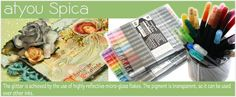 Copic Glitter Pens (AtYou Spica)