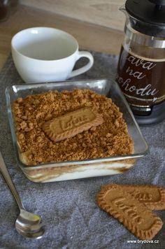 LotusTiramisu   brydova.cz No Bake Pies, Lotus Biscoff, Tiramisu, Pancakes, Baking, Breakfast, Sweet, Ethnic Recipes, Food