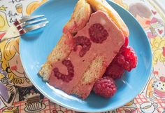 The history of the Rasberry Charlotte cake goes back and forth between England and France, our version, is simple and delicious.