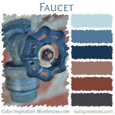 Faucet Color Palette