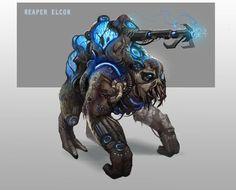 #MassEffect Reaper Elcor  by ~DuneChampion