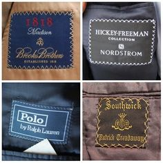 How to thrift: Menswear labels