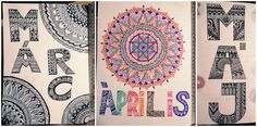 Sometimes I draw mandala in my BuJo Bujo, Mandala, Tapestry, Draw, Photos, Home Decor, Tapestries, To Draw, Pictures