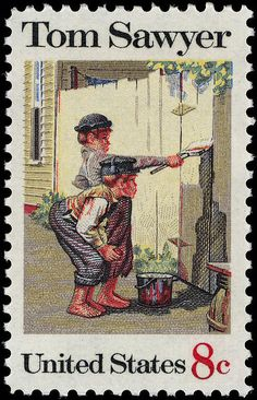 File:Tom Sawyer 8c 1972 issue U.S. stamp.jpg