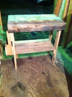 Table made of pallets!