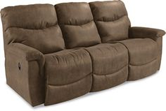 James Power La-Z-Time® Full Reclining Sofa by La-Z-Boy