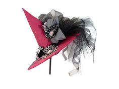 Witch Hat, Girls Halloween Birthday Party Hat - Its MY Party and Ill Fly If I Want To