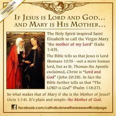 Mary the Mother of God | Catholic Facts