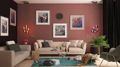 Znalezione obrazy dla zapytania colorful room