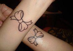 mother daughter tattoo idea