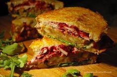 Grilled Thanksgiving Sandwich by whats_cooking Thanksgiving Recipes, Holiday Recipes, Holiday Foods, Dinner Recipes, Cranberry Relish, Soup And Sandwich, Sandwich Board, Sandwich Ideas, Grilled Sandwich