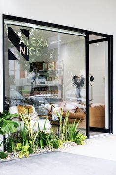 Alexa Nice has a new boutique showroom in James Street, New Farm. Boutique Spa, Boutique Interior, Shop Interior Design, Best Interior, Retail Design, Spa Store, Shoe Store Design, Globe West, Showroom