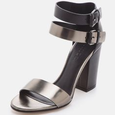Lana Metallic Heels In Box