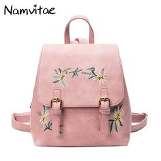 40d0ada5c97d Cheap school bags for teenagers, Buy Quality bags for teenagers directly  from China bags for teenage girls Suppliers: Fashion Floral Pu Leather  Backpack ...